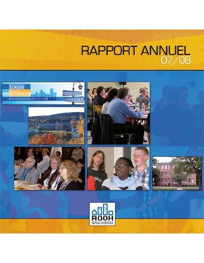 Rapport annuel du RQOH 2007-2008