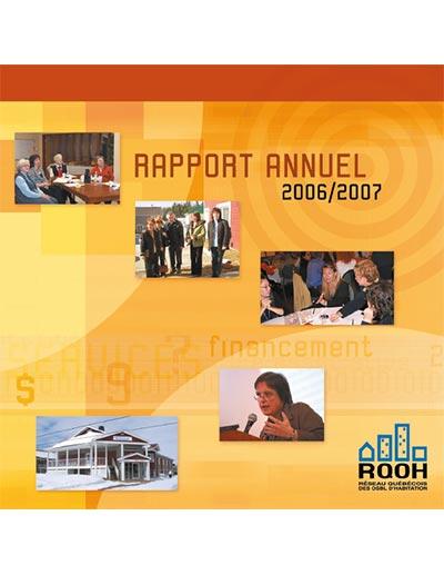 Rapport annuel du RQOH 2006-2007