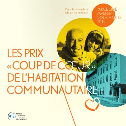 Prix Coup de Coeur de l'habitation communautaire 2012