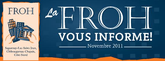 Bulletin – La FROH vous informe !