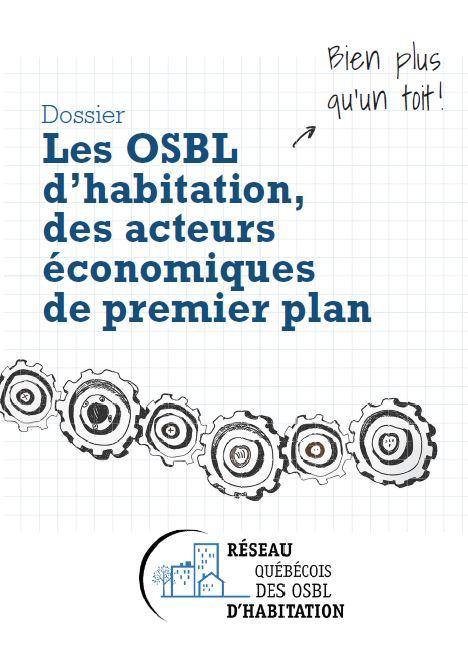 Caractéristiques économiques du parc des OSBL du Québec (synthèse)