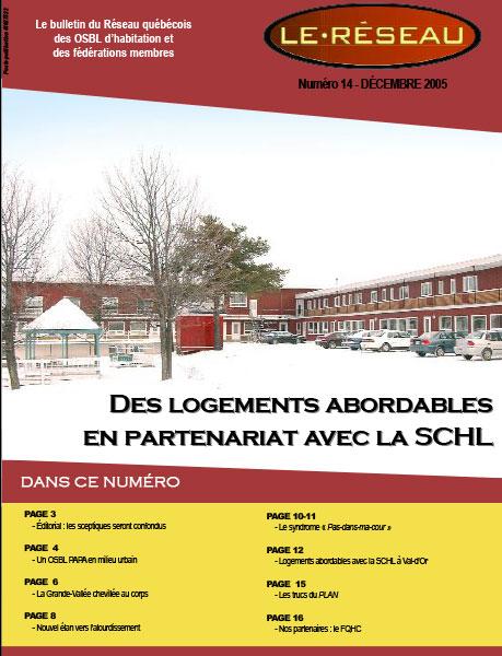 Bulletin Le Réseau – no. 14