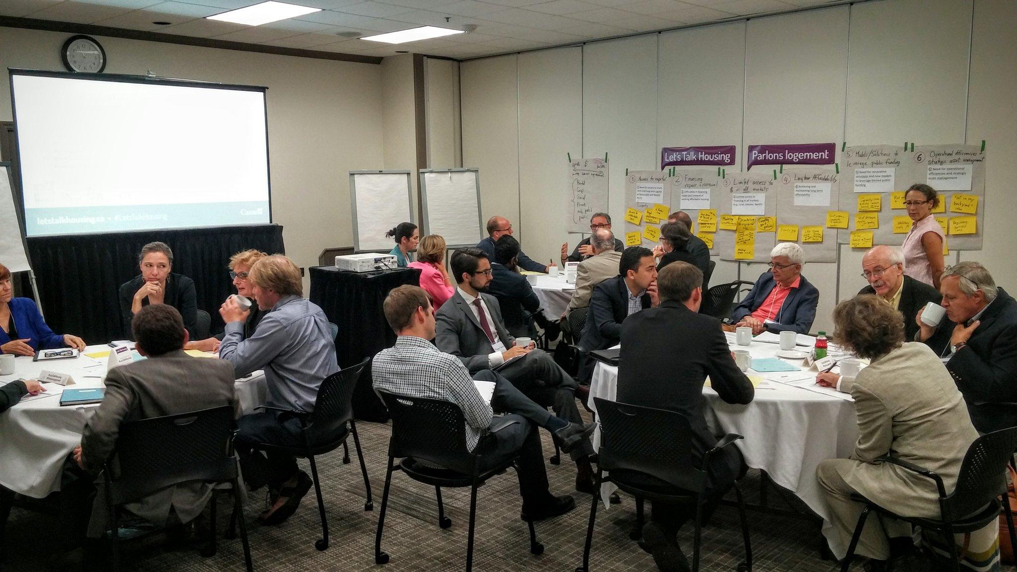 Stratégie nationale sur le logement : la consultation continue