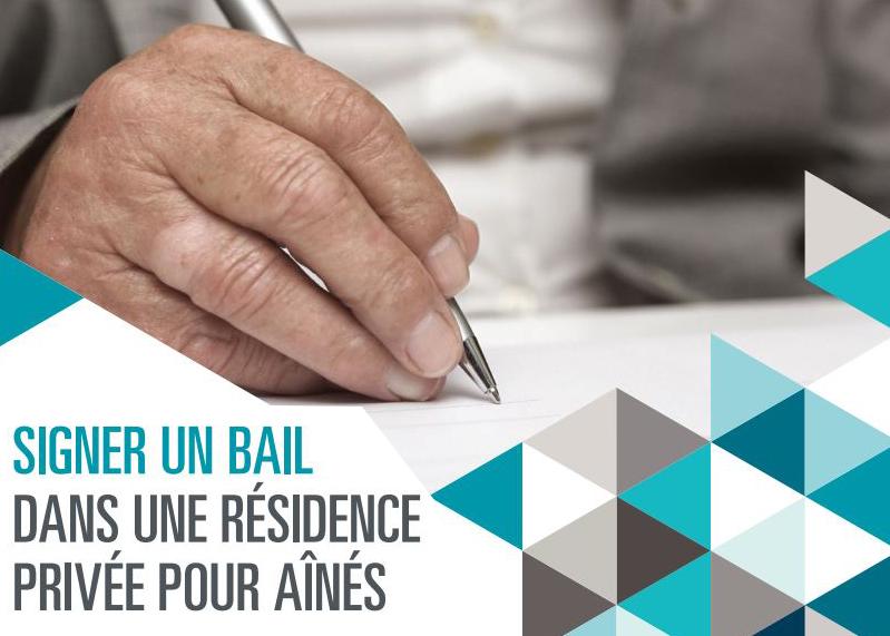 Des guides simples sur les droits et obligations du bail en résidences privées pour aînés